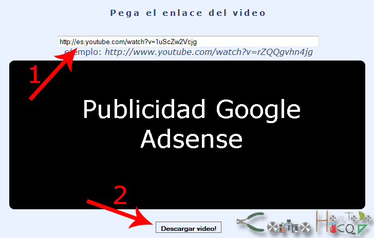 Como descargar videos de YouTube. 4
