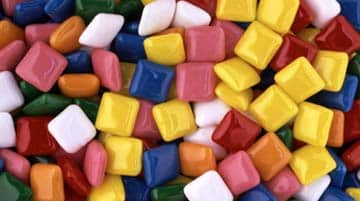 Pastillas de chicle