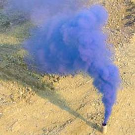 Bomba de humo de color