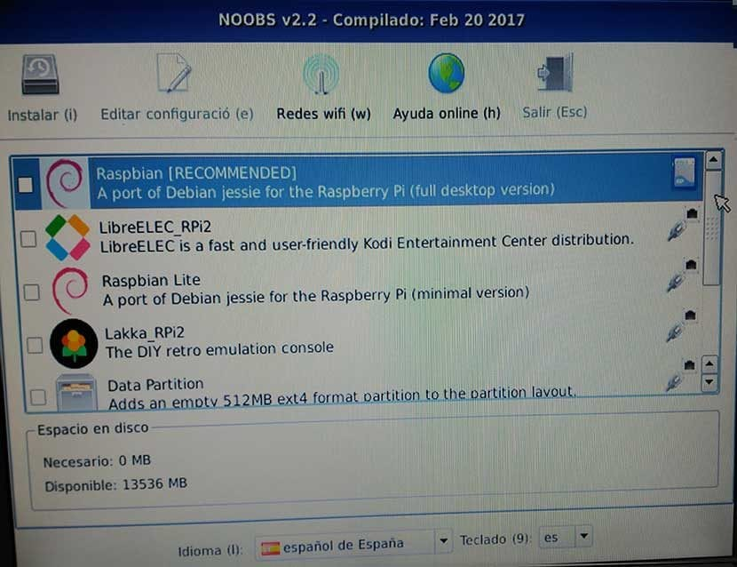 NOOBS 2.2 Feb 20 2017