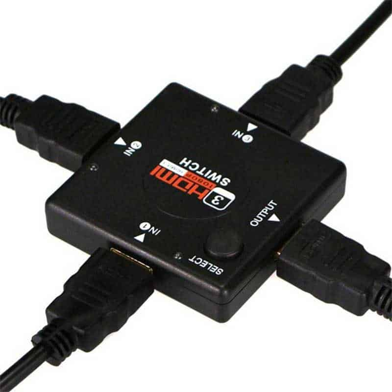 HDMI Switch 3-1 con selector